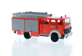 Iveco  - Magirus red - 1:87 - Rietze - R71022 - RZ71022 | The Diecast Company