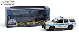 Chevrolet  - Tahoe 2010 white - 1:43 - GreenLight - 86183 - gl86183 | The Diecast Company