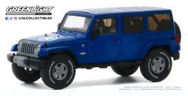 Jeep  - Wrangler 2013 blue - 1:43 - GreenLight - 86185 - gl86185 | The Diecast Company