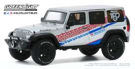 Jeep  - Wrangler 2017 grey/white - 1:43 - GreenLight - 86186 - gl86186 | The Diecast Company