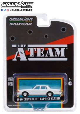 Chevrolet  - Caprice 1980 white - 1:64 - GreenLight - 44865C - gl44865C | The Diecast Company