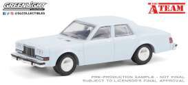 Dodge  - Diplomat 1981 light blue - 1:64 - GreenLight - 44865D - gl44865D | The Diecast Company