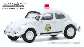 Volkswagen  - Beetle 1964 white - 1:64 - GreenLight - 30000A - gl30000A | The Diecast Company