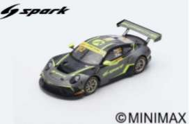 Porsche  - 911 GT3 2019 grey/black/yellow - 1:18 - Spark - 18SA026 - spa18SA026 | The Diecast Company