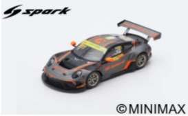 Porsche  - 911 GT3 2019 grey/black/orange - 1:18 - Spark - 18SA027 - spa18SA027 | The Diecast Company