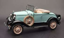 Ford  - Model A  1931 powder blue - 1:18 - SunStar - 6126 - sun6126 | The Diecast Company