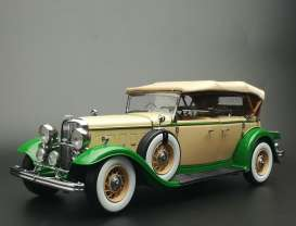 Ford Lincoln - Lincoln KB top-up 1934 light tan/light green - 1:18 - SunStar - 6164 - sun6164 | The Diecast Company