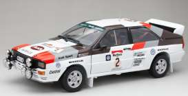 Audi  - Quattro A2 #2 1983 white/red/black/grey - 1:18 - SunStar - 4250 - sun4250 | The Diecast Company