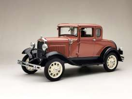 Ford  - Model A Coupe 1931 brown - 1:18 - SunStar - 6138 - sun6138 | The Diecast Company