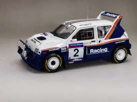 MG  - Metro 6R4 #22 1986 white/blue - 1:18 - SunStar - 5542 - sun5542 | The Diecast Company