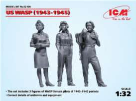 Figures diorama - German Luftwaffe Pilots 1939  - 1:32 - ICM - icm32108 | The Diecast Company