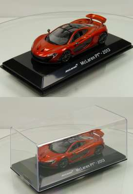 McLaren  - P1 2013 copper-red - 1:43 - Magazine Models - magSCP1 | The Diecast Company