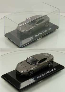 Aston Martin  - DB11 2016 grey - 1:43 - Magazine Models - magSCDB11 | The Diecast Company