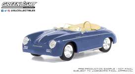 Porsche  - Speedster 2008 blue - 1:43 - GreenLight - 86598 - gl86598 | The Diecast Company