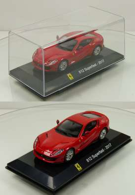 Ferrari  - 812 Superfast 2017 red - 1:43 - Magazine Models - magSC812 | The Diecast Company