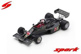 Lotus  - 77 1976 black/gold - 1:43 - Spark - s7133 - spas7133 | The Diecast Company