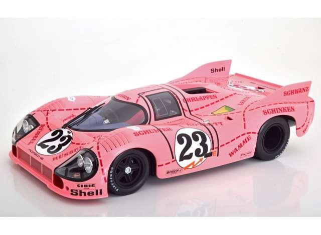 24h Le Mans Kauhsen//Joest 1971 1:12 CMR Porsche 917//20 Pink Pig #23