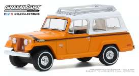 Jeep  - Commando 1971 orange/white - 1:64 - GreenLight - 35170A - gl35170A | The Diecast Company