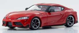 Toyota  - GT Supra red - 1:43 - Kyosho - 3700R - kyo3700Rr | The Diecast Company