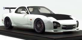 Mazda  - RX-7 white/carbon - 1:12 - Ignition - IG1837 - IG1837 | The Diecast Company