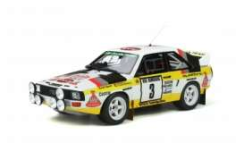 Audi  - Quattro 1985 yellow/white - 1:18 - OttOmobile Miniatures - ot820 - otto820 | The Diecast Company