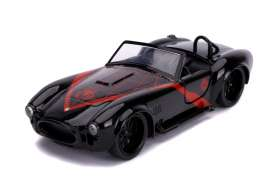 Shelby  - Cobra 427 *Spiderman* 1965 black/red - 1:32 - Jada Toys - 31743 - jada31743 | The Diecast Company