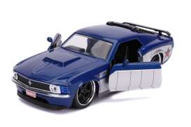 Ford  - Boss Mustang *Winter Soldier* 1970 blue/silver - 1:32 - Jada Toys - 31745 - jada31745 | The Diecast Company
