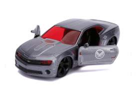 Chevrolet  - Camaro *War Machine Avengers* 2010 grey - 1:32 - Jada Toys - 31844 - jada31844 | The Diecast Company