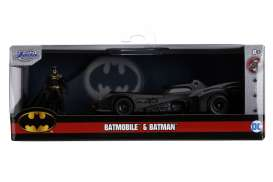 Batman  - Batmobile  1989 black - 1:32 - Jada Toys - 31704 - jada31704 | The Diecast Company