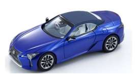 Lexus  - LC Convertible 1997 structural blue - 1:43 - Kyosho - 3902b - kyo3902b | The Diecast Company