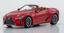 Lexus  - LC Convertible 1997 radiant red - 1:43 - Kyosho - 3902r - kyo3902r | The Diecast Company