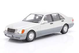 Mercedes Benz  - S500 silver/grey - 1:18 - iScale - 1180000046 - iscale1180046 | The Diecast Company