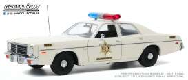 Dodge  - Coronet 1975 white - 1:18 - GreenLight - 19092 - gl19092 | The Diecast Company