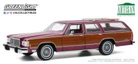 Mercury  - Grand 1985 burgundy - 1:18 - GreenLight - 19093 - gl19093 | The Diecast Company