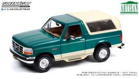 Ford  - Bronco 1993 green - 1:18 - GreenLight - 19094 - gl19094 | The Diecast Company
