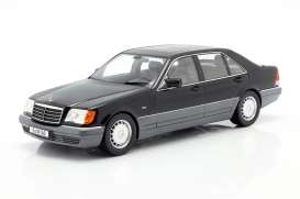 Mercedes Benz  - S500 black - 1:18 - iScale - 1180000047 - iscale1180047 | The Diecast Company
