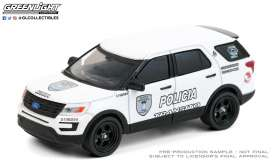 Ford  - Interceptor Utility  2016 white/black - 1:64 - GreenLight - 30210 - gl30210 | The Diecast Company