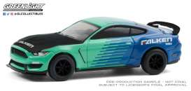 Ford  - Shelby 2019 green/blue - 1:64 - GreenLight - 30211 - gl30211 | The Diecast Company