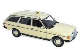 Mercedes Benz  - 200 1982 cream - 1:18 - Norev - 183731 - nor183731 | The Diecast Company