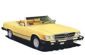 Mercedes Benz  - 300 SL 1979 yellow - 1:18 - Norev - 183727 - nor183727 | The Diecast Company