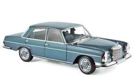 Mercedes Benz  - 280 SE 1968 light blue - 1:18 - Norev - 183760 - nor183760 | The Diecast Company