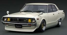 Nissan  - Skyline 2000 white - 1:18 - Ignition - IG1979 - IG1979 | The Diecast Company