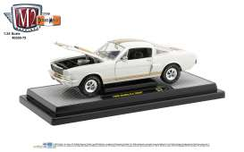 Shelby  - G.T. 350H 1966 white/gold - 1:24 - M2 Machines - 40300-75A - M2-40300-75A | The Diecast Company