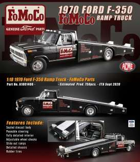 Ford  - F-350 Ramp Truck  - 1:18 - Acme Diecast - 1801408 - acme1801408 | The Diecast Company