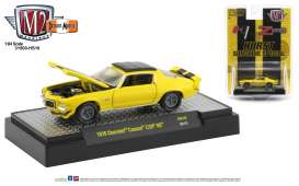 Chevrolet  - Camaro Z28 1970 yellow/black - 1:64 - M2 Machines - 31500HS10 - M2-31500HS10 | The Diecast Company