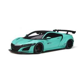 Honda  - NSX 2017 green-blue - 1:18 - GT Spirit - GT806 - GT806 | The Diecast Company
