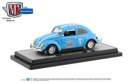 Volkswagen  - Beetle 1952 blue - 1:24 - M2 Machines - 40300-78A - M2-40300-78A | The Diecast Company