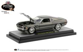 Ford Mustang - 1970 green/black - 1:24 - M2 Machines - 40300-78B - M2-40300-78B | The Diecast Company