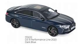 Citroen  - DS 9 2020 dark blue - 1:43 - Norev - 170031 - nor170031 | The Diecast Company