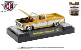 Chevrolet  - Cheyenne Squarebody 1973 yellow/white - 1:64 - M2 Machines - 32500MJS24 - M2-32500MJS24 | The Diecast Company